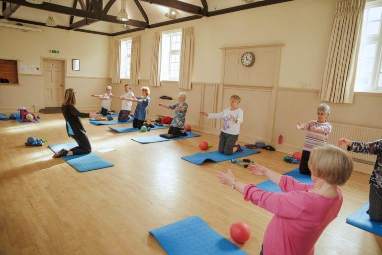 finding a pilates class