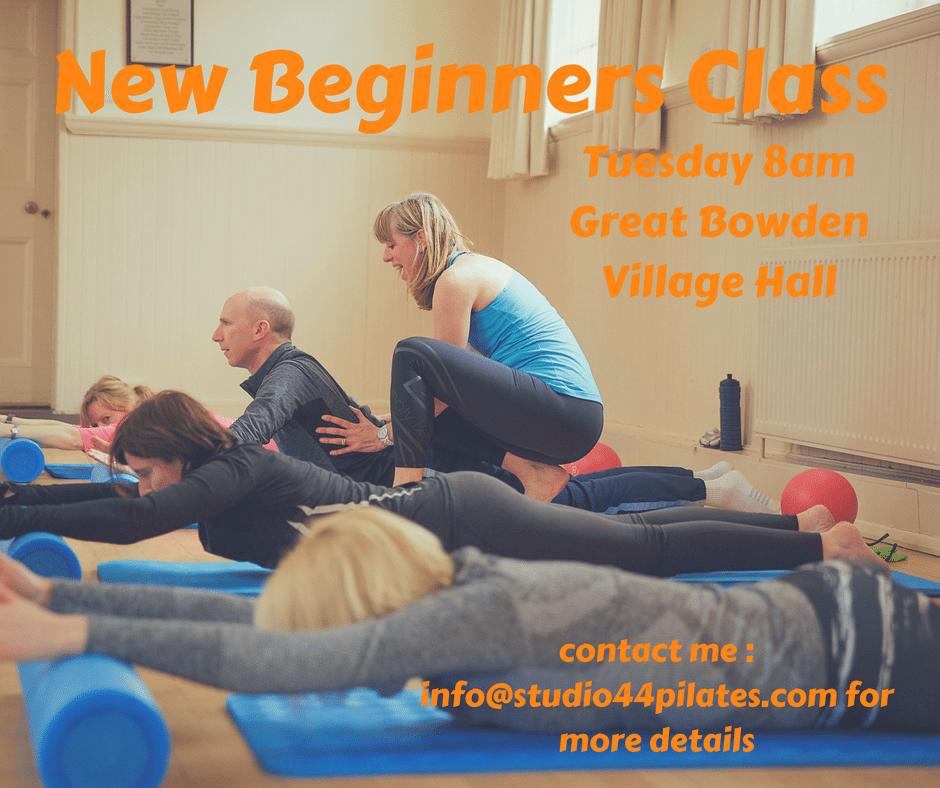 New Beginners class starting in September - Studio 44 Pilates