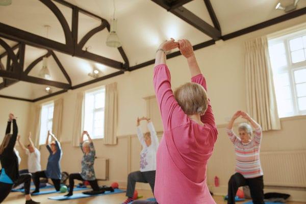 Pilates class any age