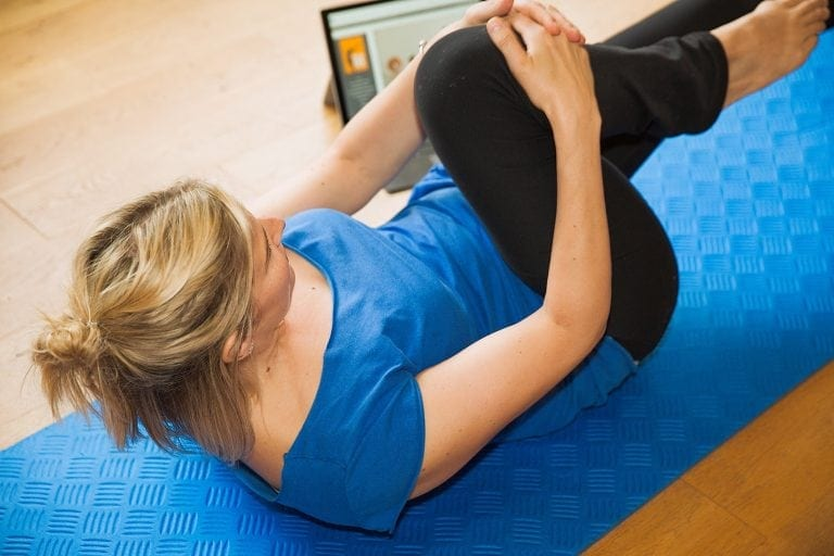Online Pilates during the holidays