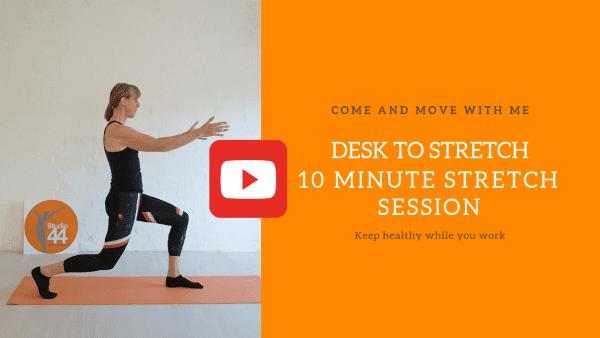 Desk to Stretch No 6 - Studio 44 Pilates