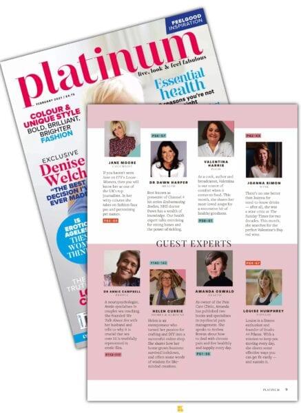 Copy of Platinum magazine