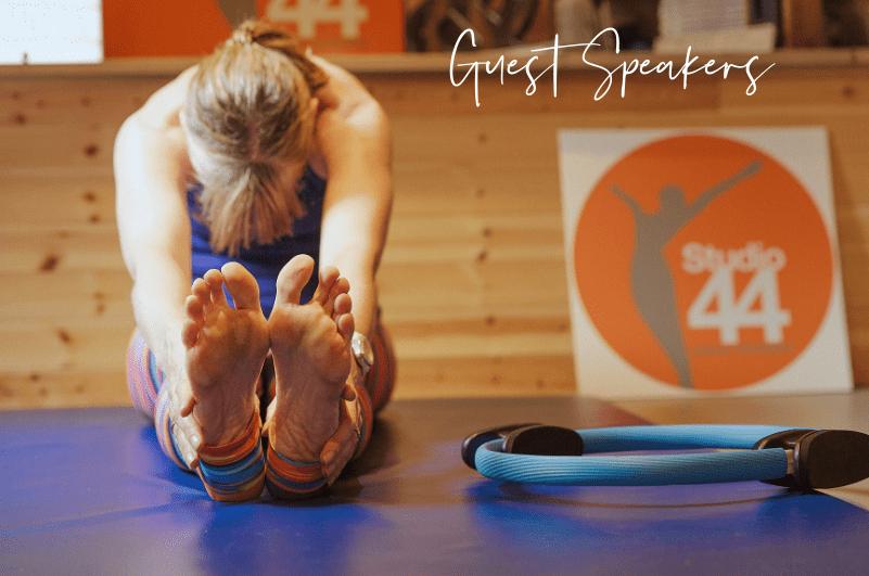 Guest Speaker sessions - Studio 44 Pilates